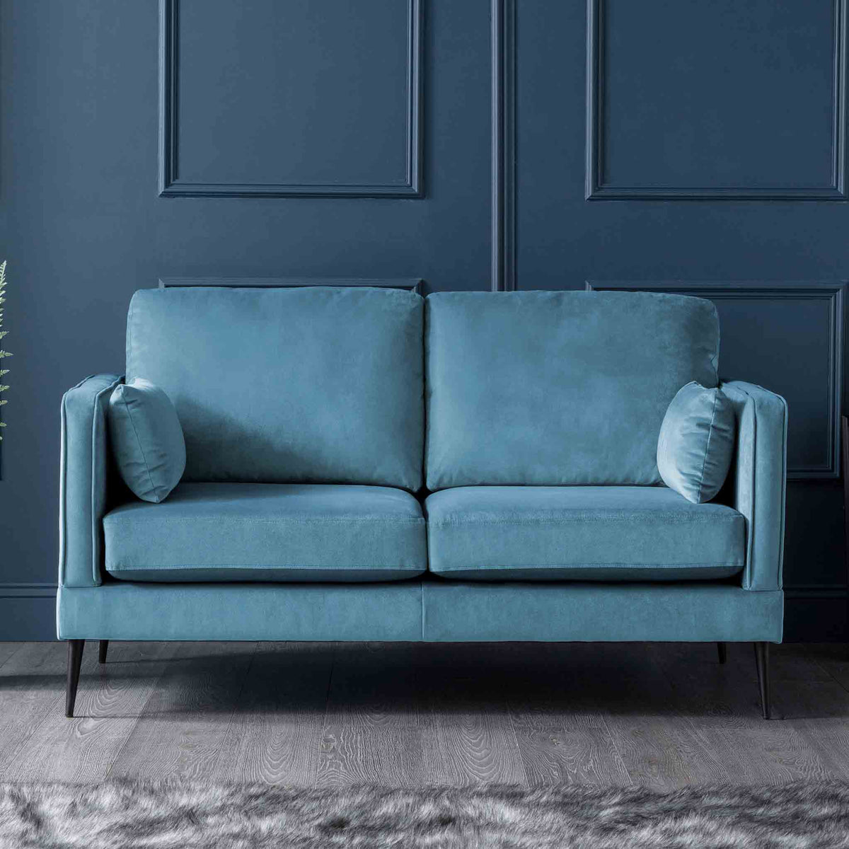 Anton Peacock 2 Seater Sofa - Lifestyle