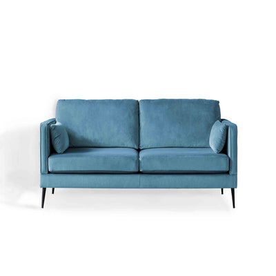 Anton Peacock 2 Seater Sofa by Roseland Furniture