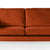 Anton Apricot 2 Seater Sofa - Close up of mid section of sofa