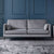 Anton Grey 3 Seater Sofa - Lifestyle