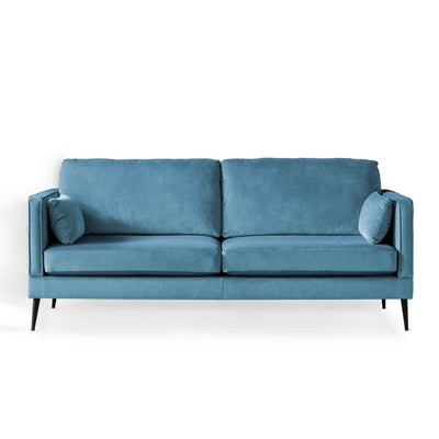 Anton Peacock 3 Seater Sofa by Roseland Furniture