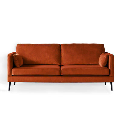 Anton Apricot 3 Seater Sofa by Roseland Furniture