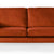 Anton Apricot 3 Seater Sofa - Close up of mid section