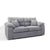 Amalfi Silver 2 Seater Fabric Sofa from Roseland Furniture