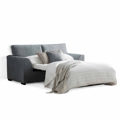 Dallas Charcoal 2 Seater Sofa Bed