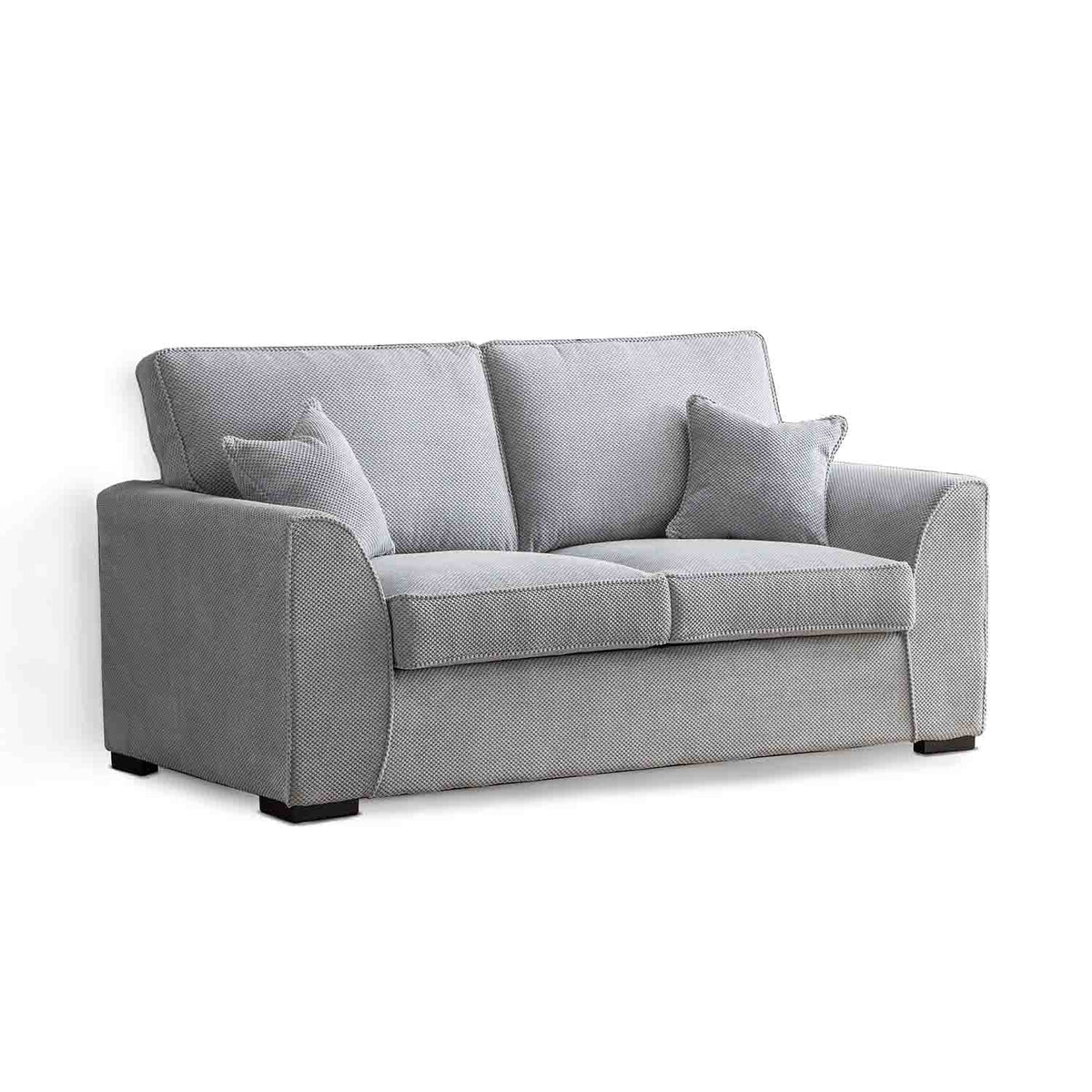 Dallas Silver 2 Seater Sofa by Roseland Furniture