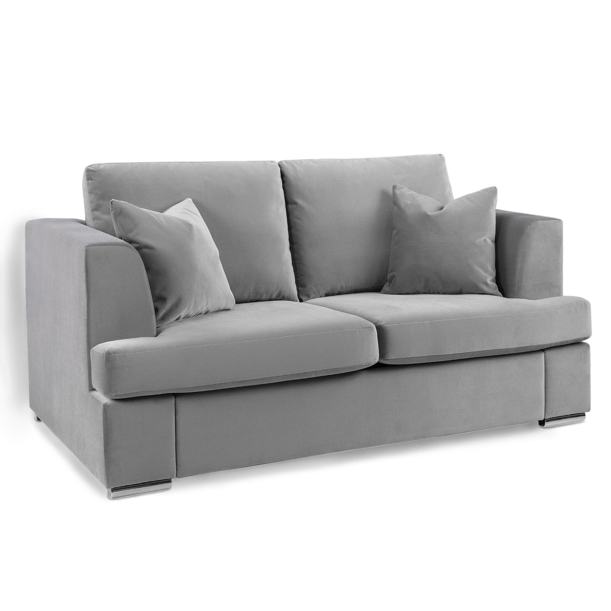 Felice Grey 2 Seater Sofa by Roseland Furniture