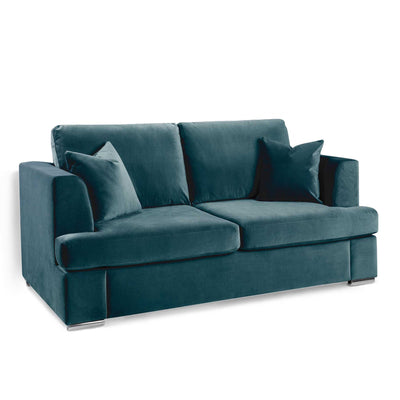 Felice Peacock 3 Seater Sofa by Roseland Furniture