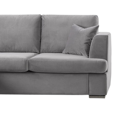 Felice Corner Chaise Sofa - Grey