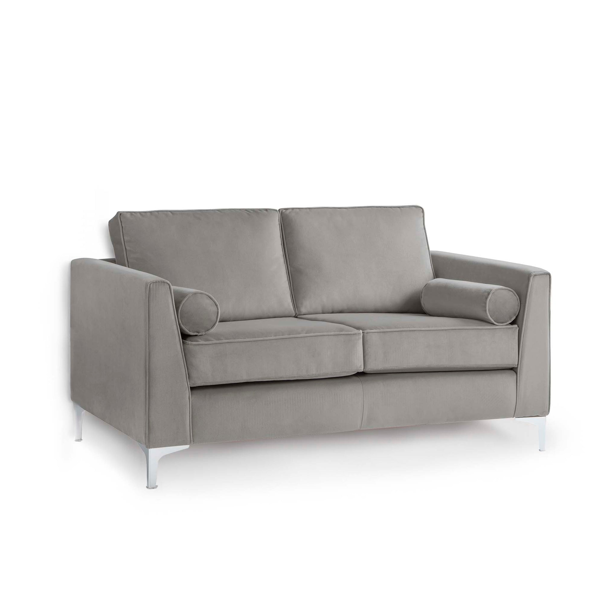 Ikon Grey 2 Seater Sofa by Roseland Furniture