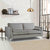 Ikon Grey 3 Seater Sofa - Lifestyle