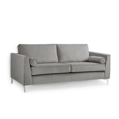 Ikon Grey 3 Seater Sofa by Roseland Furniture
