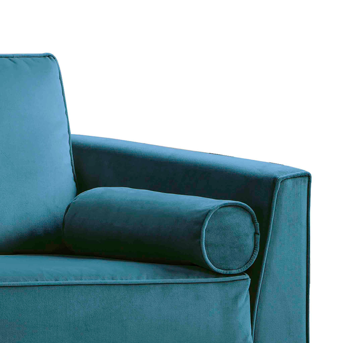 Ikon Peacock 3 Seater Sofa - Close up of arm rest