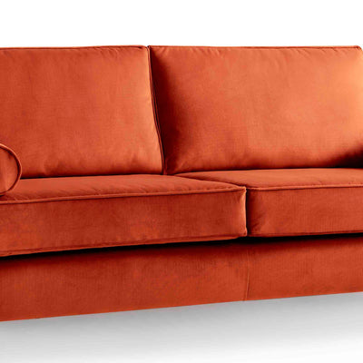 Ikon Apricot 3 Seater Sofa - Close up of cushions