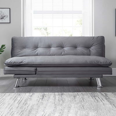 Laze Sofa Bed - Grey