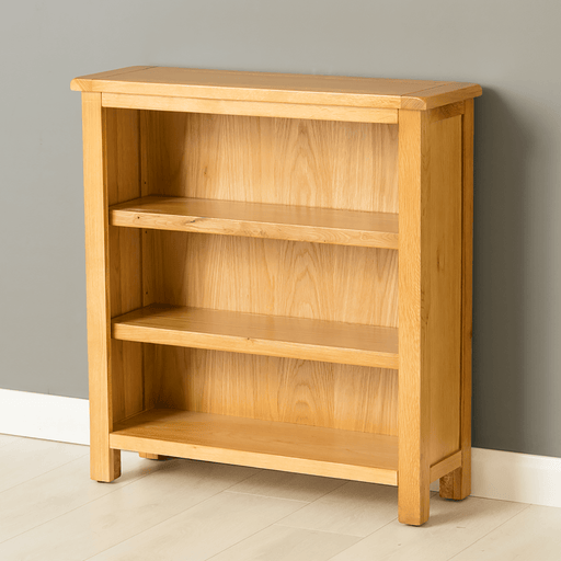 Poldark Oak Small Bookcase