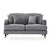 Piper Grey 2 Seater Sofa from Roseland Furniture