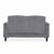 back view of the Piper Grey 2 Seater Sofa from Roseland Furniture