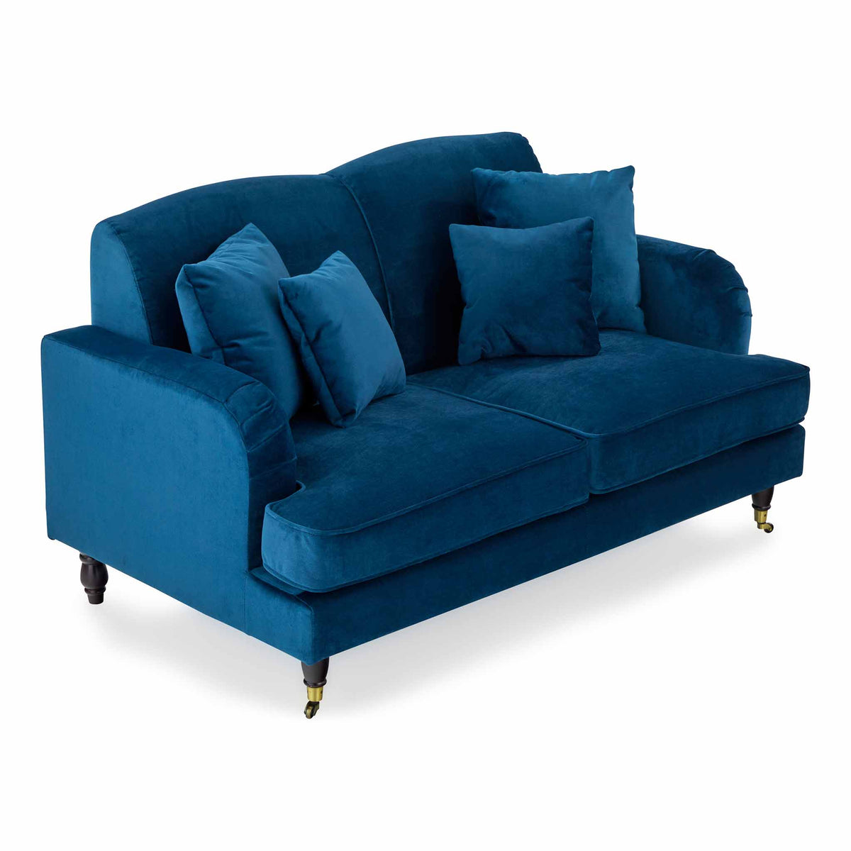 Piper Peacock 2 Seater Couch from Roseland Furniture