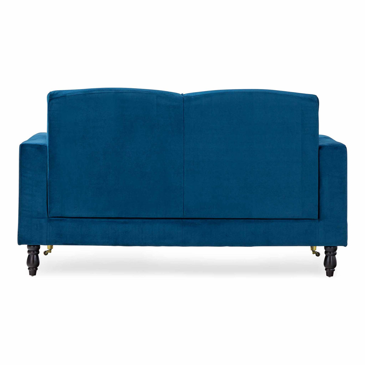 back view of the Piper Peacock 2 Seater Sofa from Roseland Furniture