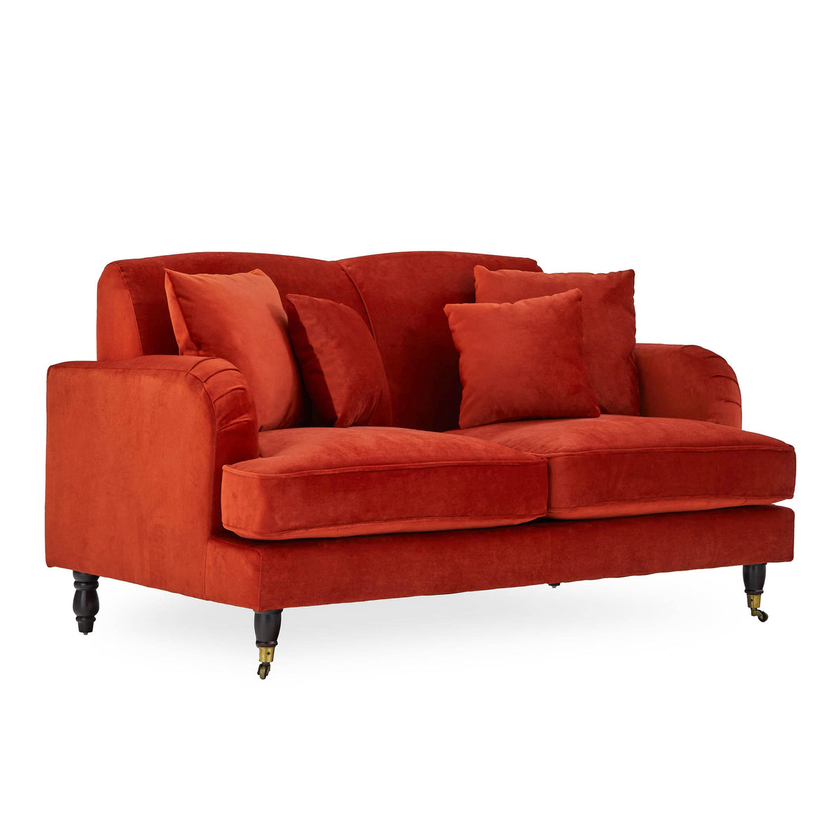 Piper Apricot 2 Seater Settee from Roseland Furniture