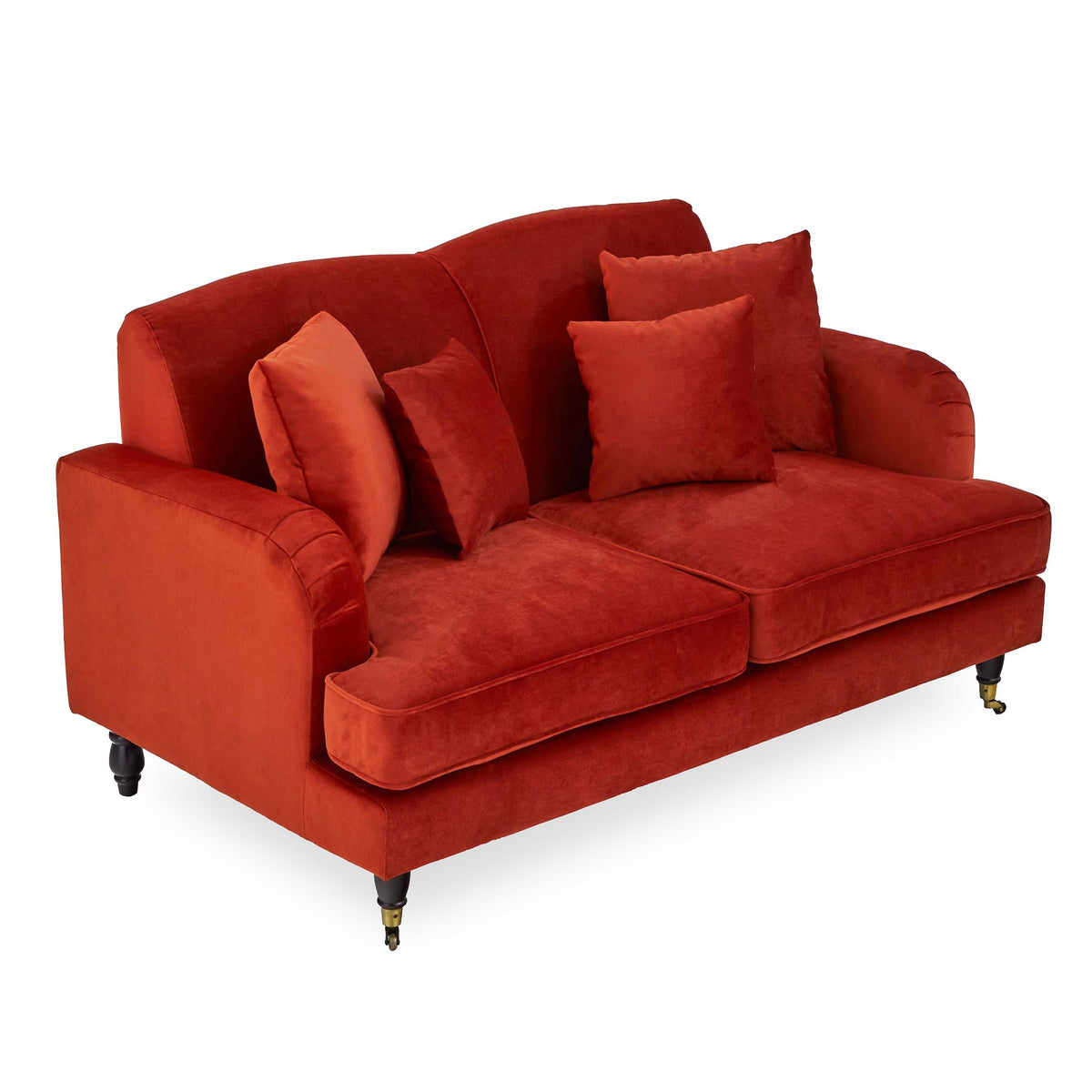 Piper Apricot 2 Seater Couch from Roseland Furniture