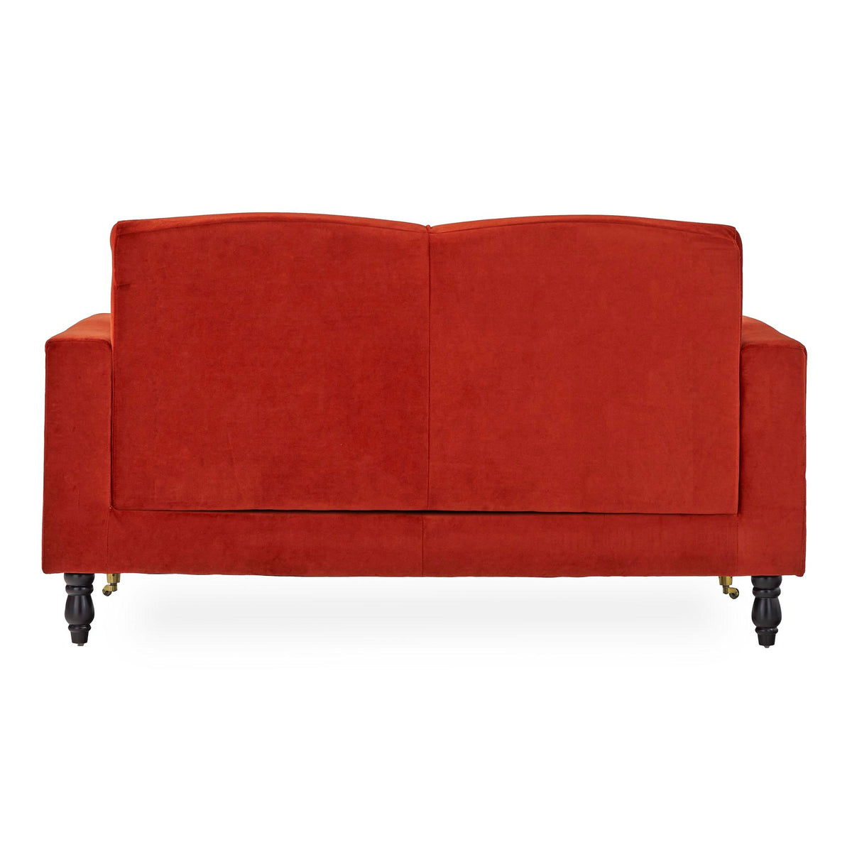 back view of the Piper Apricot 2 Seater Sofa from Roseland Furniture