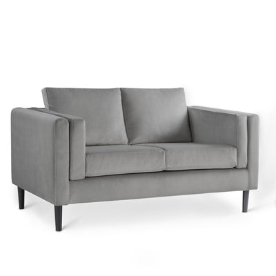 Sandringham Grey Velvet 2 Seater Sofa from Roseland Furniture