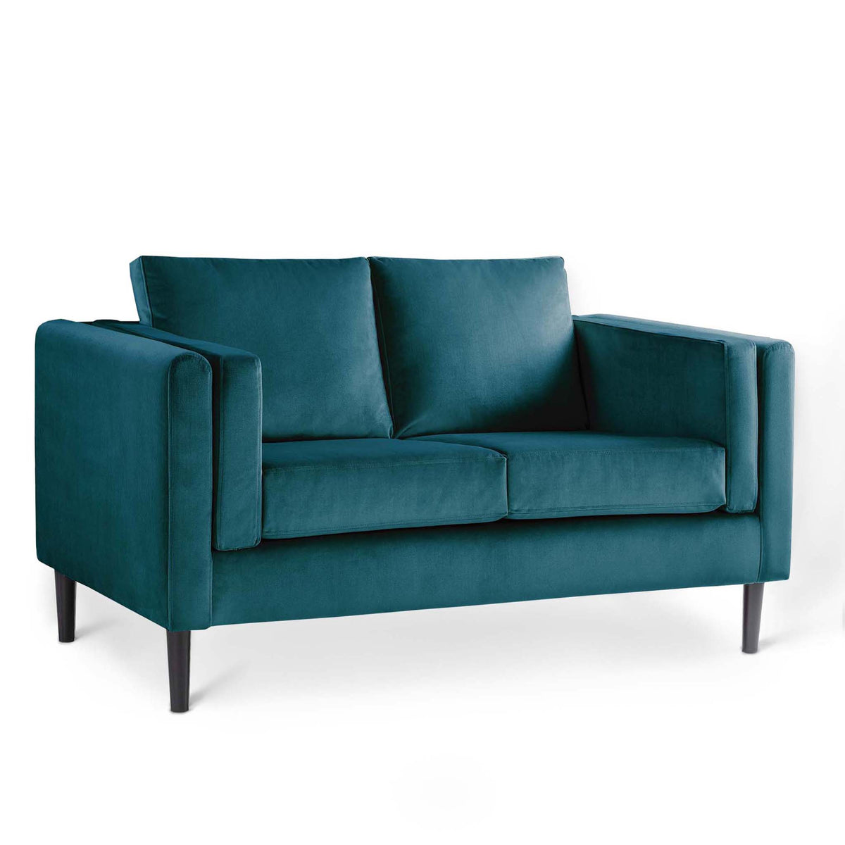 Sandringham Peacock Velvet 2 Seater Sofa from Roseland Furniture