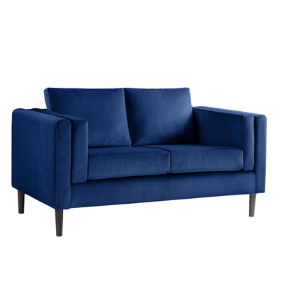 Sandringham Navy Velvet 2 Seater Sofa from Roseland Furniture
