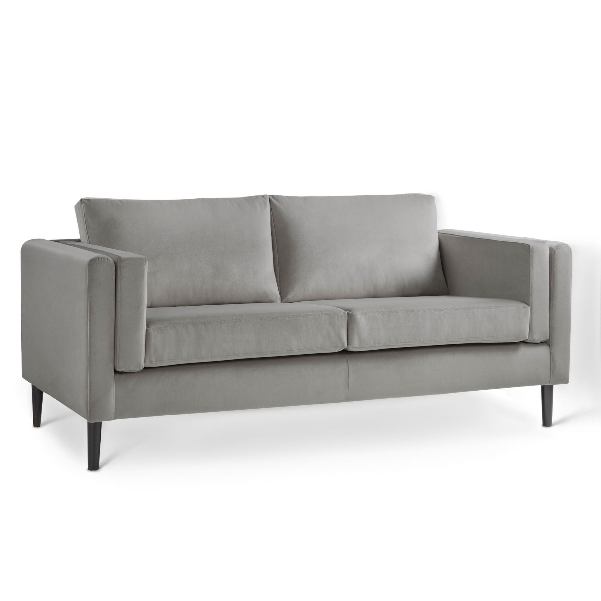 Sandringham Grey Velvet 3 Seater Sofa from Roseland Furniture