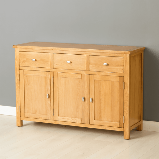 Poldark Oak Large Sideboard