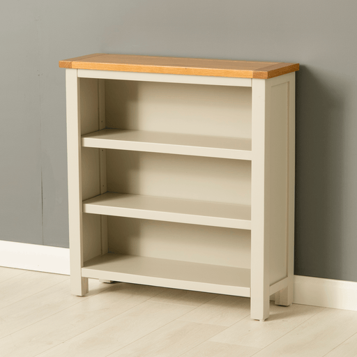 Mullion Grey Small Bookcase