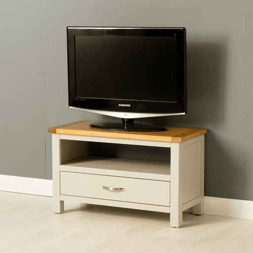 Mullion Grey 75cm TV Stand