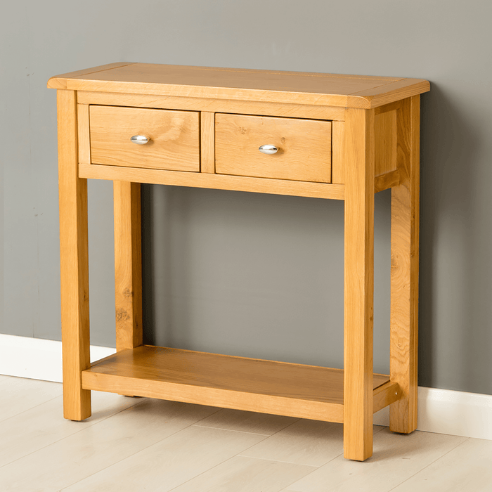 Poldark Oak Large Hall Table