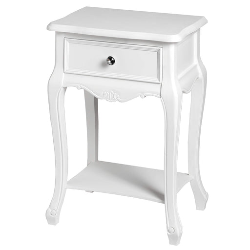 Florence Lamp Table with Drawer