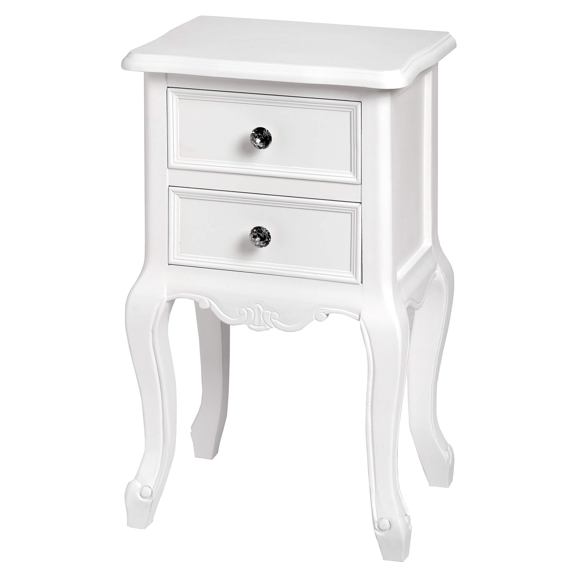 Florence Two Drawer Side Table
