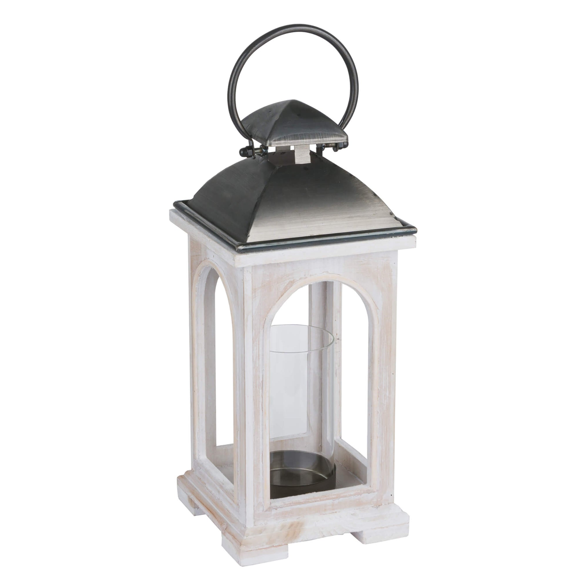 Antique White Church Lantern