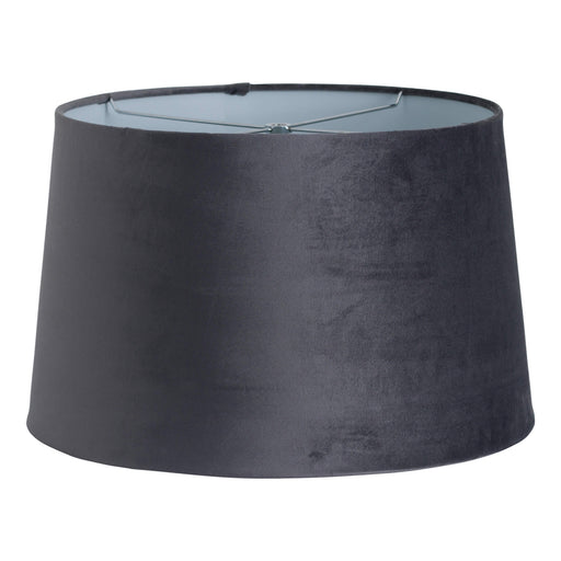 Grey Velvet Lamp Shade