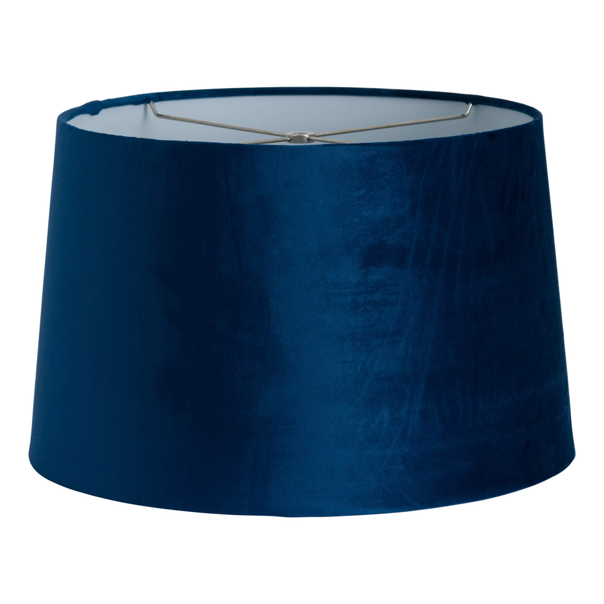 Navy Velvet Lamp Shade