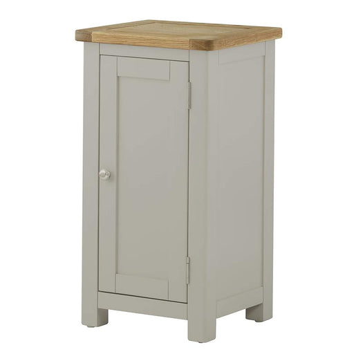 Padstow Grey Painted 1 Door Cabinet