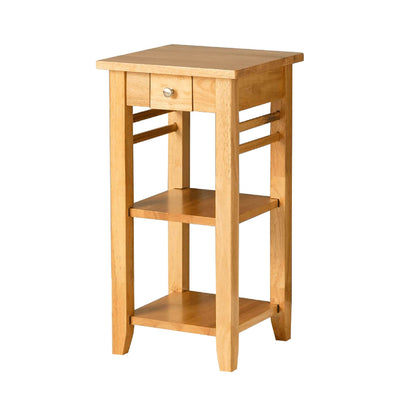 Oxford Light Oak Telephone Table by Roseland Furniture