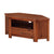 The Prussia Acacia Dark Wood Corner TV Stand Storage Cabient from Roseland Furniture