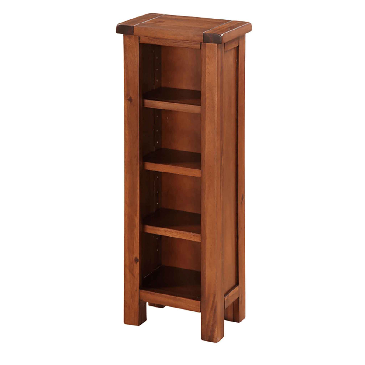 The Prussia Acacia Dark Wood DVD or CD Storage Unit from Roseland Furniture