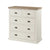 St Ives Painted 2 over 3 Drawer Chest of Drawers by Roseland Furniture