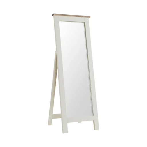 St Ives Painted Cheval Mirror by Roseland Furniture