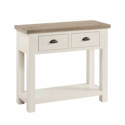 St Ives Painted Console Table by Roseland Furniture