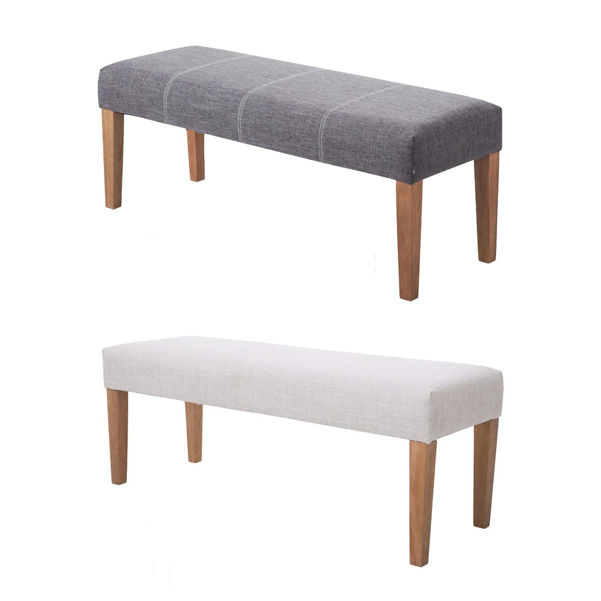The Zara Fabric Bedroom Bench from Roseland Furniture