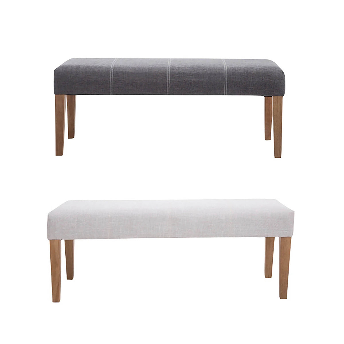 Zara Fabric Bedroom Bench by Roseland Furniture