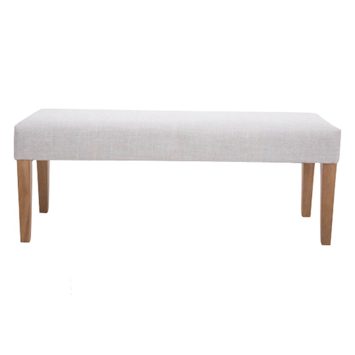 The Zara Beige Padded Bedroom Bench from Roseland Furniture